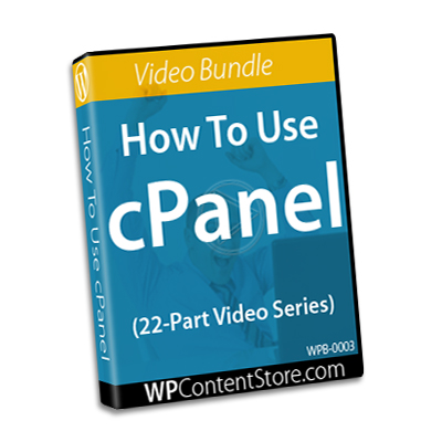 How To Use cPanel - 22 Part Video Series