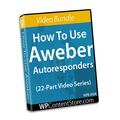 How To Use Aweber - 22 Part Video Series