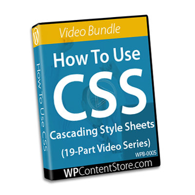 How To Use CSS - 19 Part Video Series