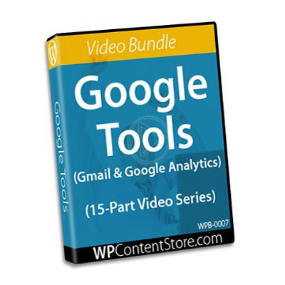 Google Tools - 15 Part Video Series