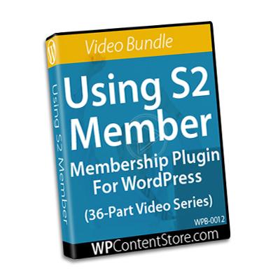 Using S2 member - 36 Part Video Series