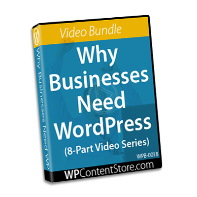 Why Businesses Need WordPress - 8 Part Video Series